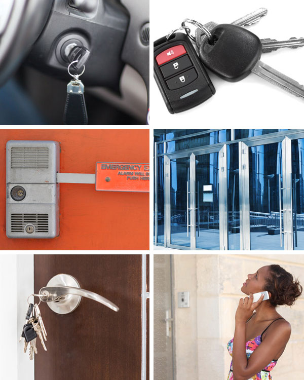 ARC Locksmith Collage